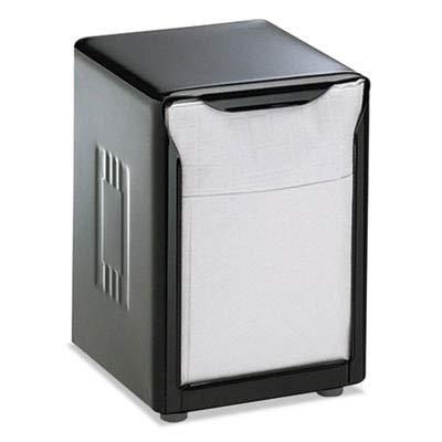 * * Tabletopナプキンディスペンサー、低Fold、3 3 / 4 x 4 x 5 1 / 2、容量: 150、ブラック   B00TOSK56S