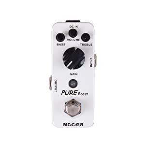 Mooer Baby Tuner Pedale Accordatore Cromatico – Pure Boost