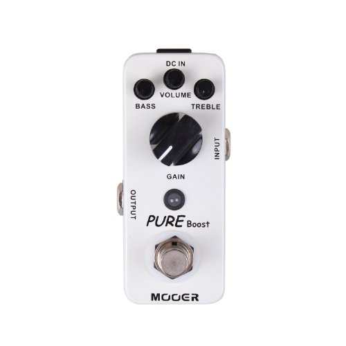 Mooer Pure Boost, clean boost pedal Boost Guitar Pedal