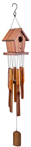 WOODMUSIC Wind Chimes Outdoor, 37