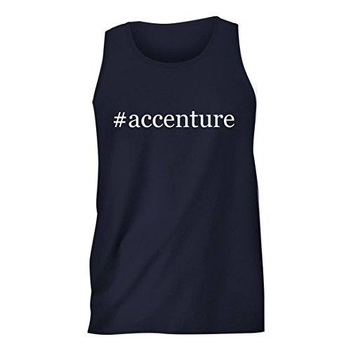 accenture-hashtag-mens-comfortable-humor-adult-tank-top-navy-small