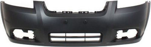 CPP Primed Front Bumper Cover Replacement for 2007-2011 Chevrolet Aveo Sedan