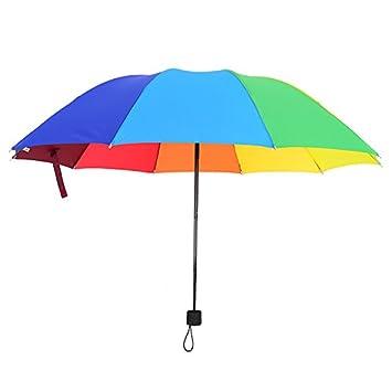 RF Paraguas en días de lluvia, soleado con dos paraguas ...