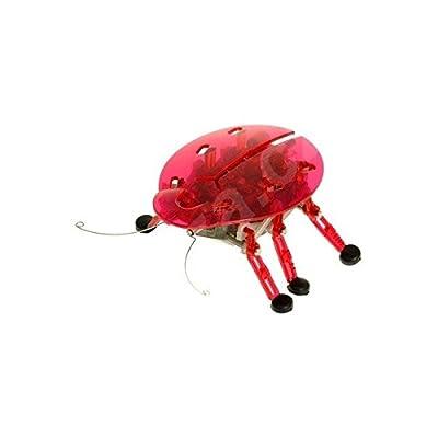 Hexbug Red Beetle Micro Robotic Creature: Toys & Games
