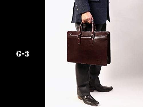 青木鞄 Lugard G-3 :15インチPC対応。オンリーワンのシャドー仕上げ。ヴィンテージ感漂う2wayラウンドファスナーブリーフケース