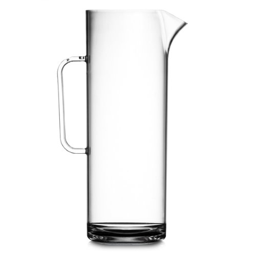 Elite Polycarbonate Tall Jug with Lid 60oz / 1.7ltr | 3 Pint Jug, Plastic Jug, Reusable Jug, Cocktail Jug BBP Marketing Ltd