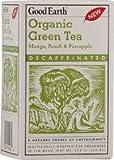 Organic Green Tea Mango, Peach and Pineapple Decaffeinated 18 Count