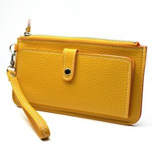 KLOUD City synthetic leather leechee pattern women purse with an outer pocket