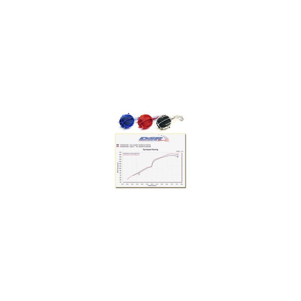 Hyundai Elantra / 4 cyl. Dragon Short Ram Intake 02 02   Pipe Color Yellow; Filter Color Black (limited app) w/Mesh Cage