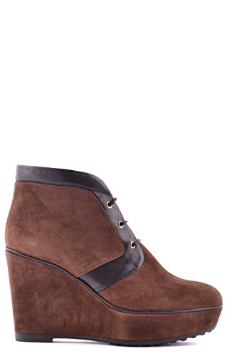 Brown MCBI293216O Ankle Boots Tod's Suede Women's qYx6nz