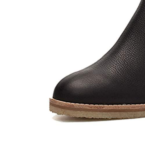 Size Vestiti 37 Outdoor color Black Tutti Stivale I Singolo Stivali Tacco A E Black Sportive 5 Adatto Autunno Inverno Vintage Basso Alto Camping Femminile Scarpe 1HHwqBT7