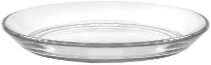 Duralex Set Of 6 Lys Clear Club Plate 13,5 cm 5 3//8 in