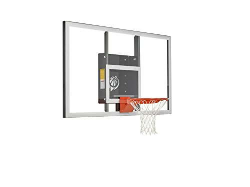 "Goalsetter 72"" Baseline Acrylic Backboard with HD Breakaway Rim – DiZiSports Store"
