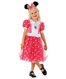Minnie Mouse Puff Ball Dress Up Outfit Age 5 7 Years Amazoncouk
