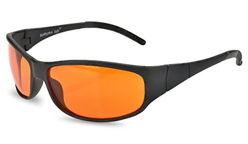 Blue Blocking Amber Glasses for Sleep - BioRhythm Safe(TM) - Nighttime Eye Wear - Special Orange Tinted Glasses Help You Sleep and Relax Your Eyes by Spectra479 (Image #2)