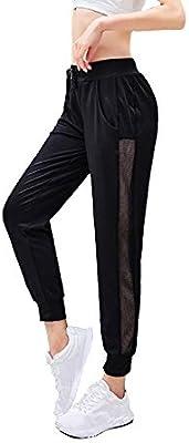 Mettime Pantalones de harén de Yoga Jogger para Mujer Pantalones ...