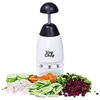 Slap Chop handmatige hakmolen voor groenten, eenvoudig te bedienen, eenvoudig te reinigen, hakmolen voor groenten en…