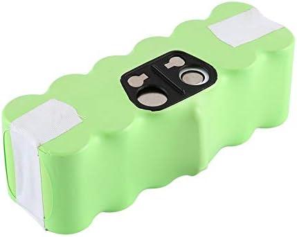 ZengBuks Batería NI-MH 14.4 V 6200 mAh para iRobot Roomba Aspirador Serie 500 600 700 800 - Verde: Amazon.es: Hogar