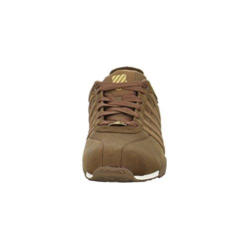 K-Swiss ARVEE 1.5 02453 - Zapatillas de deporte para hombre Marrón (Partridge/egret)