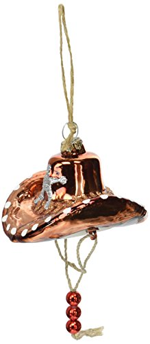 Department 56 Giddy Up Glass Cowboy Hat Hanging ()
