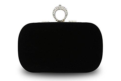 noir pour pour Ledyoung femme noir pour Pochette femme Ledyoung Ledyoung Pochette Pochette femme noir Ledyoung 6gBqn1w