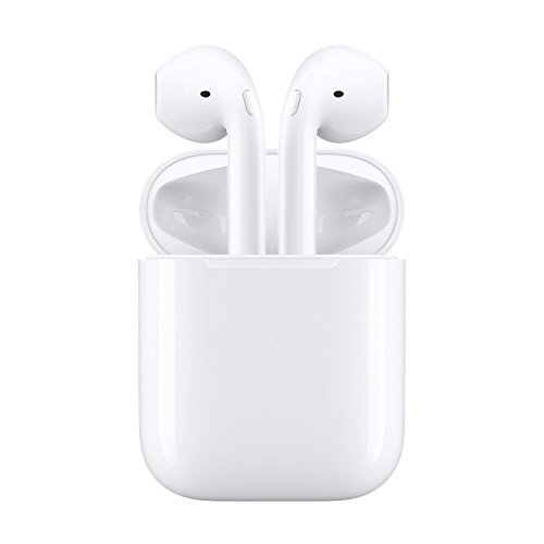 Bluetooth Headphones ,Amuoc Wireless Bluetooth Headset Stereo Earphone Cordless Sport Headsets for Apple AirPods iphone X/8 /7/ 7 plus/ 6/ 6s plus Android, Samsung, Galaxy with Charging Case -white