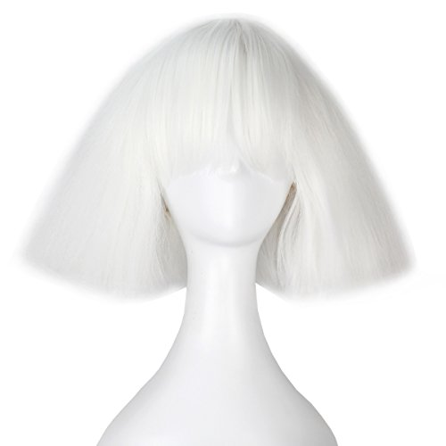 Miss U Hair Short Kinky Straight Taro Wig Women Fashion Party Hair Wig Black and Blonde Color