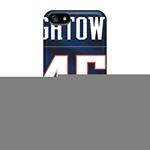 For Iphone 4/4S Cover Case Cover Skin : Premium High Quality New England Patriots Case