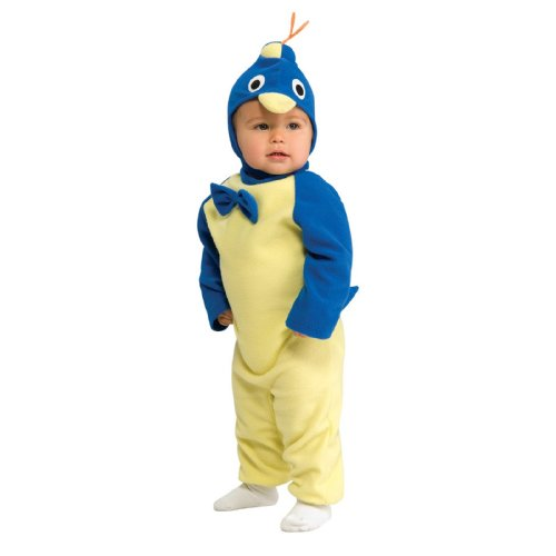 Lets Party By Rubies Costumes Backyardigans Pablo EZ-On Romper Infant Costume / Yellow - Size Newborn (0-6 Months) - Backyardigans Pablo Costumes