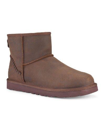 Decker UGG Men's Classic Mini Deco Chestnut Leather Boot ...