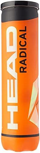 Head Radical Tennis Balls - 4 Balls