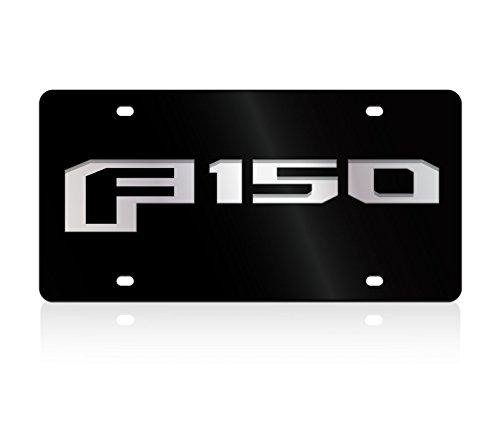 Eurosport Daytona- Compatible with 2015, F-150 - Lazer-Tag Acrylic License Plate