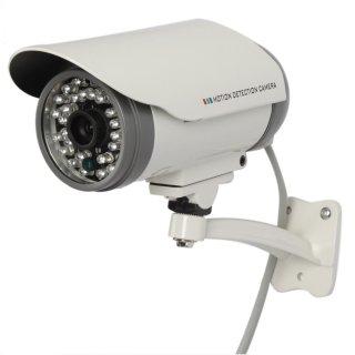 Cámara de vigilancia con DVR incorporado grabación en SD Card: Amazon.es: Bricolaje y herramientas