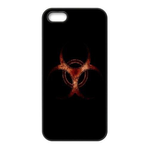 Biologique PJ19CV7 Hazard coque iPhone 4 4s cellulaire cas de téléphone coque L4KN2N7DU