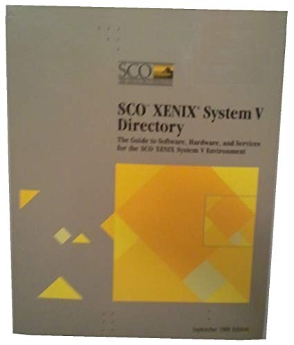 - SCO XENIX System V Directory