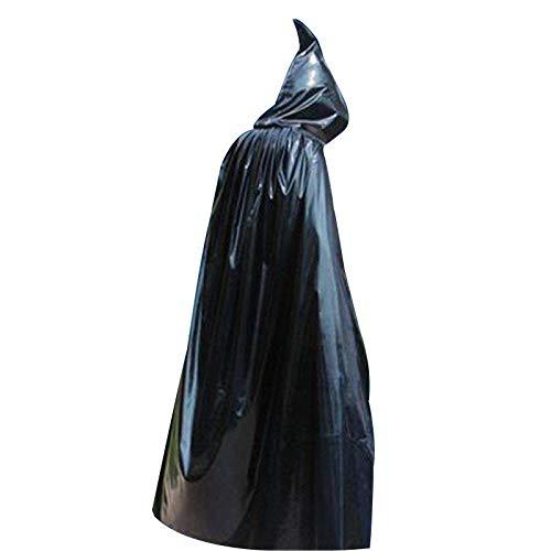 SGI Halloween Costume Wizard Hooded Cloak Robe Vampire