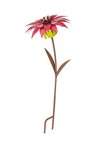 Desert Steel Dahlia - Metal Flower Garden Torch