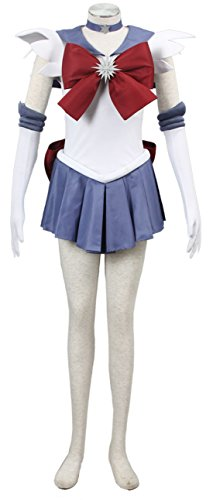 Going Coser Sailor Moon Sailor Saturn Tomoe Hotaru Cosplay Costume (XXX-Large, Multi-Color)