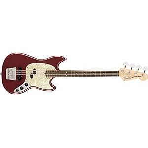 American Performer Mustang Bass RW (Aubergine)