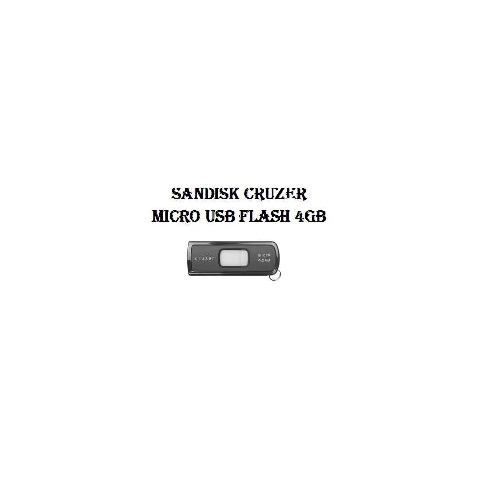 Sandisk Cruzer Micro USB Flash 4GB Retail Package GENUINE