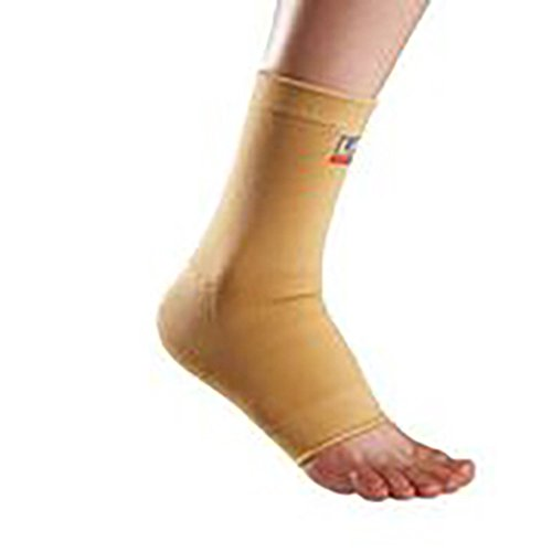 LP Four-Way Stretch Ankle Support (Unisex; Tan), Small