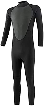 AnsenSUN Full Body Diving Suit, 3mm Neoprene Diving Wetsuit, Winter Thermal Wetsuits, for Diving Snorkeling Su