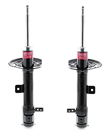 NEW Pair Set of Front Left and Right KYB Excel-G Struts For Jeep Patriot Compass 2011-2014