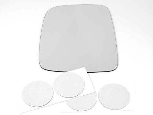 Wholesale 03-06 Jeep Wrangler/TJ, Left Driver, Replacement Mirror Glass Lens with Adhesive, USA for cheap