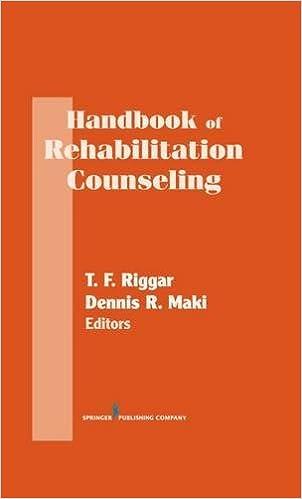 Handbook Of Rehabilitation Counseling Springer Series On