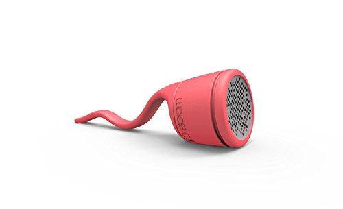 BOOM Swimmer Waterproof Wireless Bluetooth Speaker (Red)