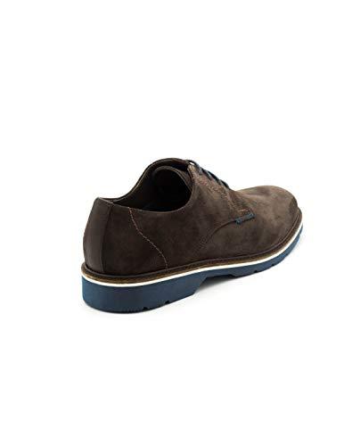 t2in Chaussure R 3079 Marron Cuir Marron Y1YqHwr8