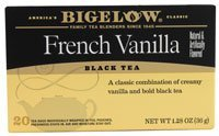 Bigelow Tea Black Tea French Vanilla -- 20 Tea Bags by Bigelow (Bigelow French Vanilla Tea)