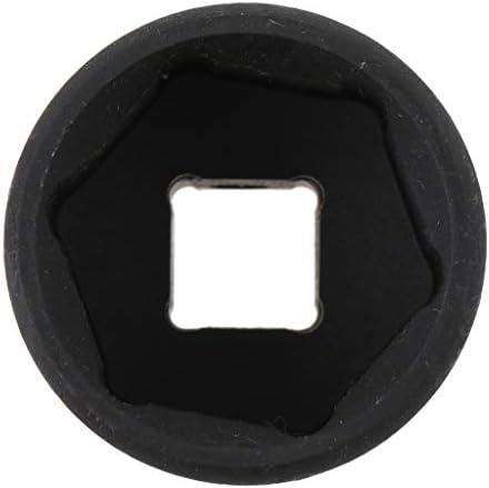 B Baosity 長さ38mm 12.5mm 1/2ドライブ 6ポイント 六角 ディープ メトリック インパクトソケットレンチ 30mm
