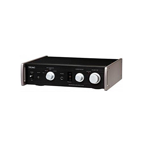 Teac HA-501 | Compact Dual Monaural Full Analog Headphone Amplifier Black by Teac